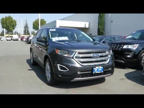 2017 Ford Edge Titanium San Jose  Sunnyvale  Hayward  Redwood City  Cupertino
