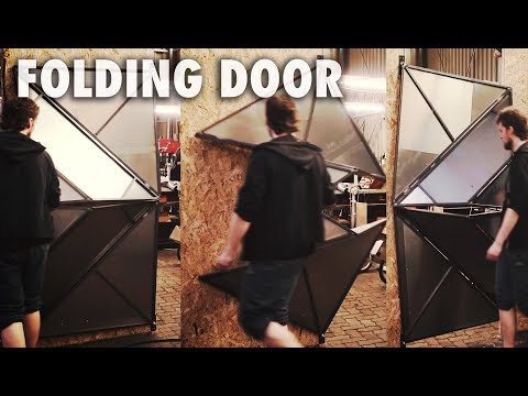 Making a Folding Metal Door