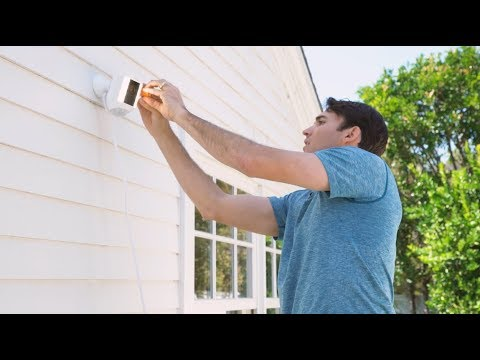 Installing Ring Spotlight Cam Wired In 15 Minutes Youtube