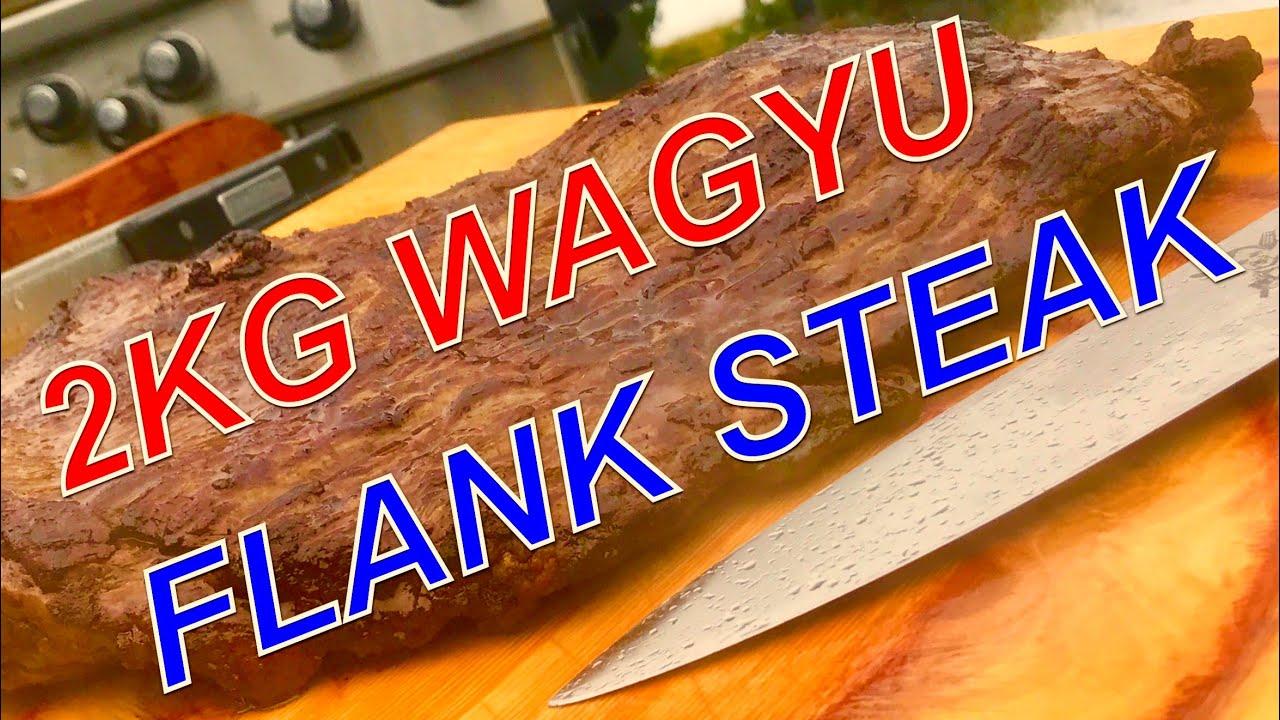 Billig Gasgrill Xxl : Kg xxl wagyu flank steak vom gasgrill u klaus grillt youtube