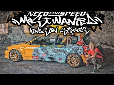 NEED FOR SPEED MOST WANTED | KINGSTON STREETS JAMAICA