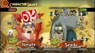 Naruto: Ultimate Ninja Storm All Characters [PS3]