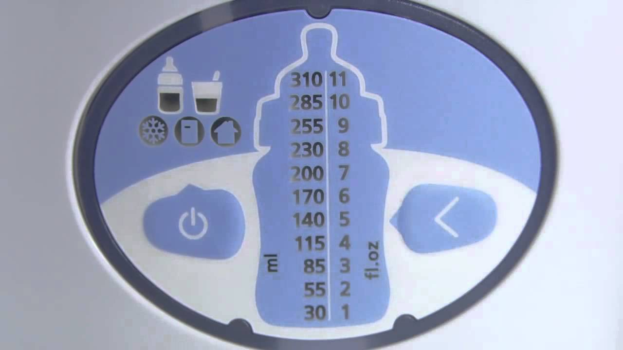 Philips Avent Digital Bottle Warmer Directions For Use Youtube