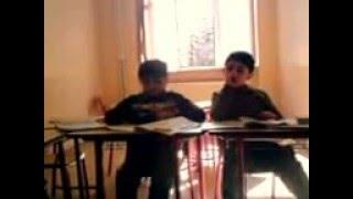 На уроке русского языка во втором классе (грузинская школа)