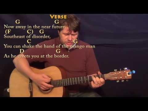 Son of a Sailor (Jimmy Buffett) Strum Guitar Cover Lesson with Chords/Lyrics