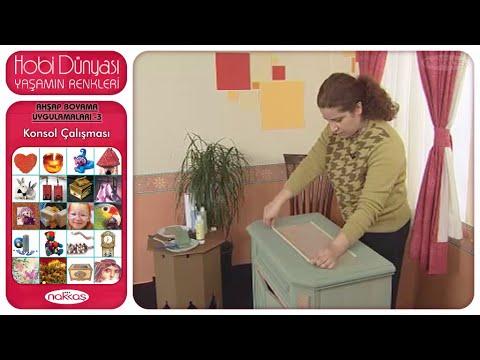 Ahşap Boyama Uygulamaları 3 Konsol çalışması Youtube