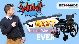 【Moven GO】Best Electric Wheelchair for Elderly and Disability Patient