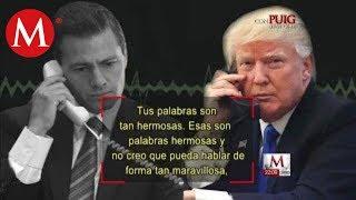 La llamada entre Peña Nieto y Donald Trump