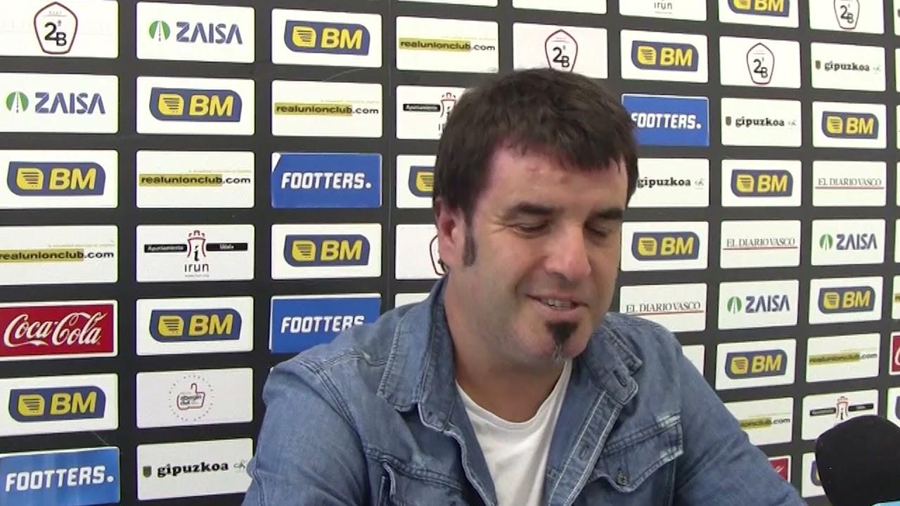Aitor Zulaika, previa al encuentro Real Unión-CD Badajoz