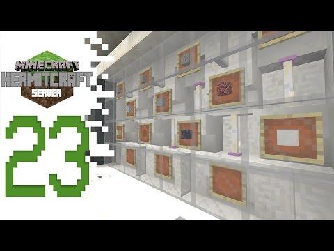 Hermitcraft (Minecraft) - EP23 - Feature Wall