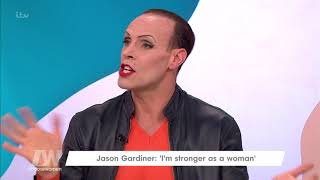 Jason Gardiner Had Quite a Reaction to His Sylvia St Croix Costume | Loose Women