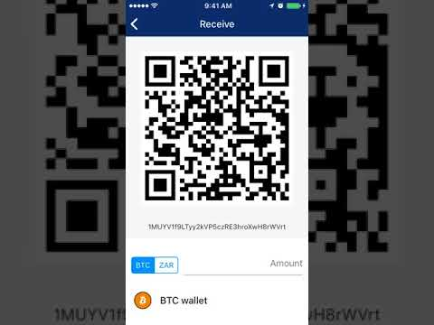 Luno BTC Wallet And Sending Bicoin
