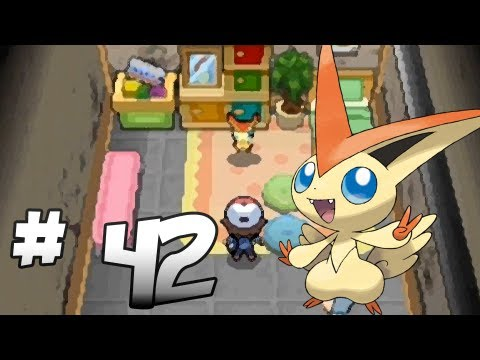 Let's Play Pokemon: Black - Part 42 - VICTINI - YouTube