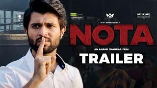 NOTA Official Trailer Reaction | Vijay Deverakonda | Sathyaraj