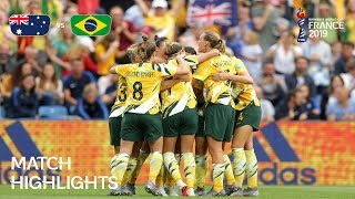 Australia V Brazil   F FA Women's World Cup France 2019™