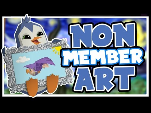 NON-MEMBERS CAN MAKE MASTERPIECES! | Animal Jam