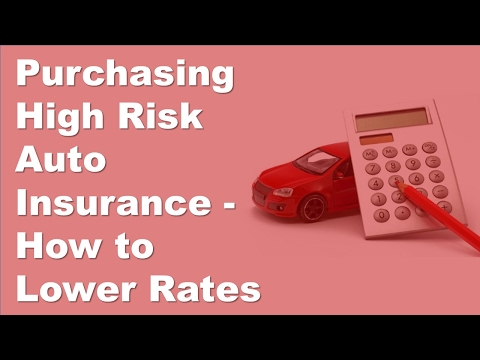 Purchasing High Risk Auto Insurance   How to Lower Rates
