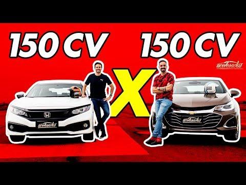 Chevrolet Cruze X Honda Civic Sport! Quem Leva O Duelo Dos Sedãs Médios? - Arrancadão #19