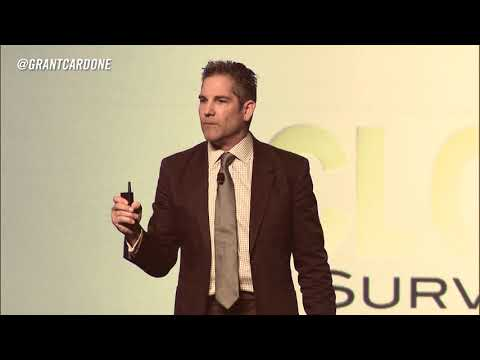Most Inspirational Speech of All-Time- Grant Cardone