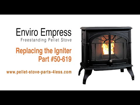 How To Replace The Igniter On An Enviro Empress Pellet Stove