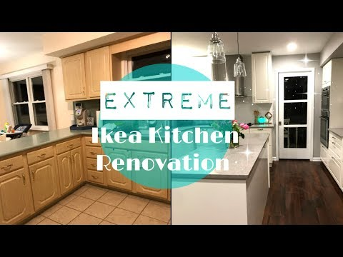 ikea kitchen remodel restaurant tables extreme renovation 2017 youtube