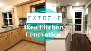 KITCHEN REMODEL // EXTREME IKEA KITCHEN RENOVATION 2017