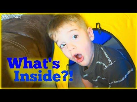 WHAT'S INSIDE? Grandmas HUGE Surprise Toy Box Opening!!