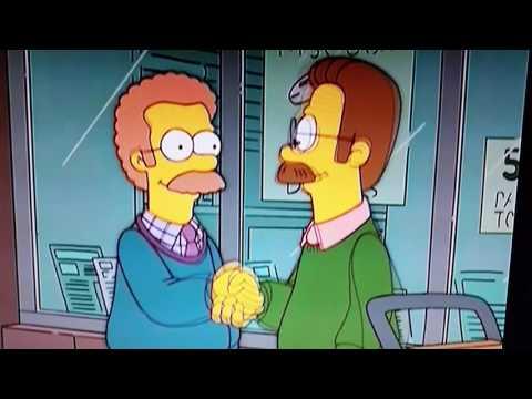 Dämlicher Flanders und Kanadischer Flanders diddly- stupid and canadien Flanders diddly