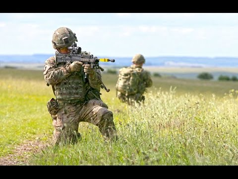 British Soldiers Test New Lighter Body Armour