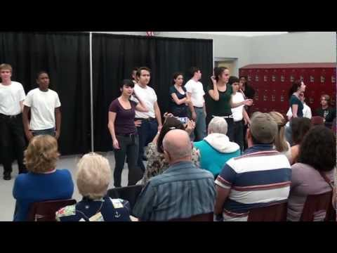 Wiregrass Ranch High School Thespian Group 71-42 / Grease
