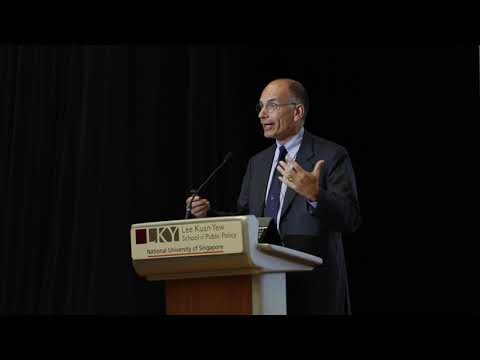 [Lecture] Enrico Letta - Regional Integration: What Lessons From Europe?