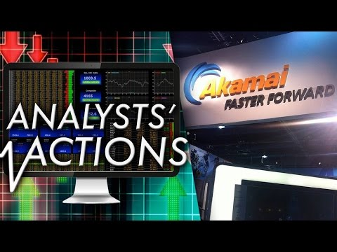 Analysts Bullish on Akamai; Aeropostale Price Target Slashed