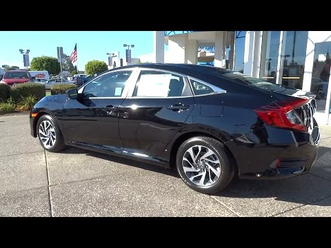 Honda civic sales event price deals lease specials bay for Honda civic 2016 black