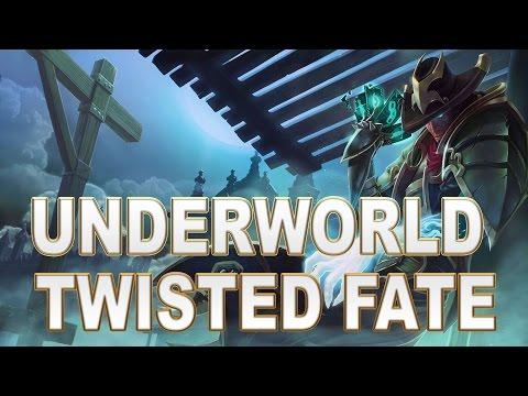 Underworld Twisted Fate Skin Spotlight - League of Legends