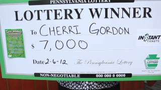 Pennsylvania Lottery Winner Lawrence County