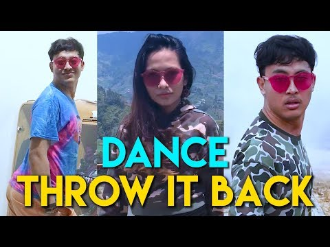 THROW IT BACK DANCE DUEL MAUT HAHA | ROND x GAYA (Rans and Niana)