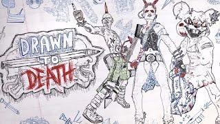 Drawn to Death — БУМАЖНЫЙ ТРЕШ! КРОВИЩА И НАСИЛИЕ В РИСОВАННОЙ ОБЕРТКЕ!