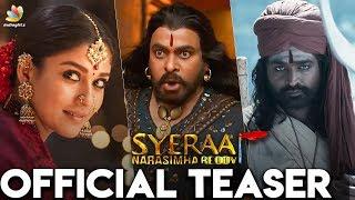 Sye Raa Narasimha Reddy Teaser Review | Vijay Sethupathi, Nayanthara, Chiranjeevi