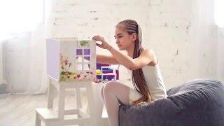 Кукольный домик своими руками. Мастерская для девочек.