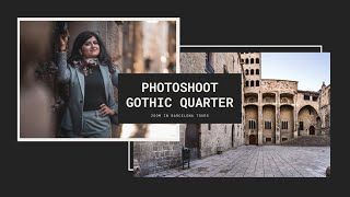 PHOTOSHOOT IN THE GOTHIC QUARTER - Zoom in Barcelona Tours