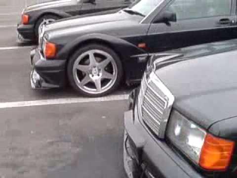 W201 Mercedes BENZ 190E 2.5-16v Evolution II meeting No1