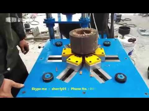 Mr t scrap electric motor recycling machine motor stator for Electric motor recycling machine