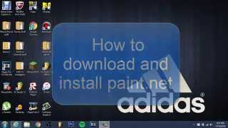 How to Download PAINT.NET | ROBLOX NIKE AND ADIDAS