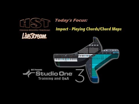 Hst Livestream Impact Playing Chordschord Maps Youtube