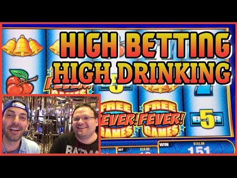 🍾🍹🍷 High Betting + HIGHER Drinking🍪  Casino Slots with Andrew ✦ Brian Christopher @ Cosmopolitan