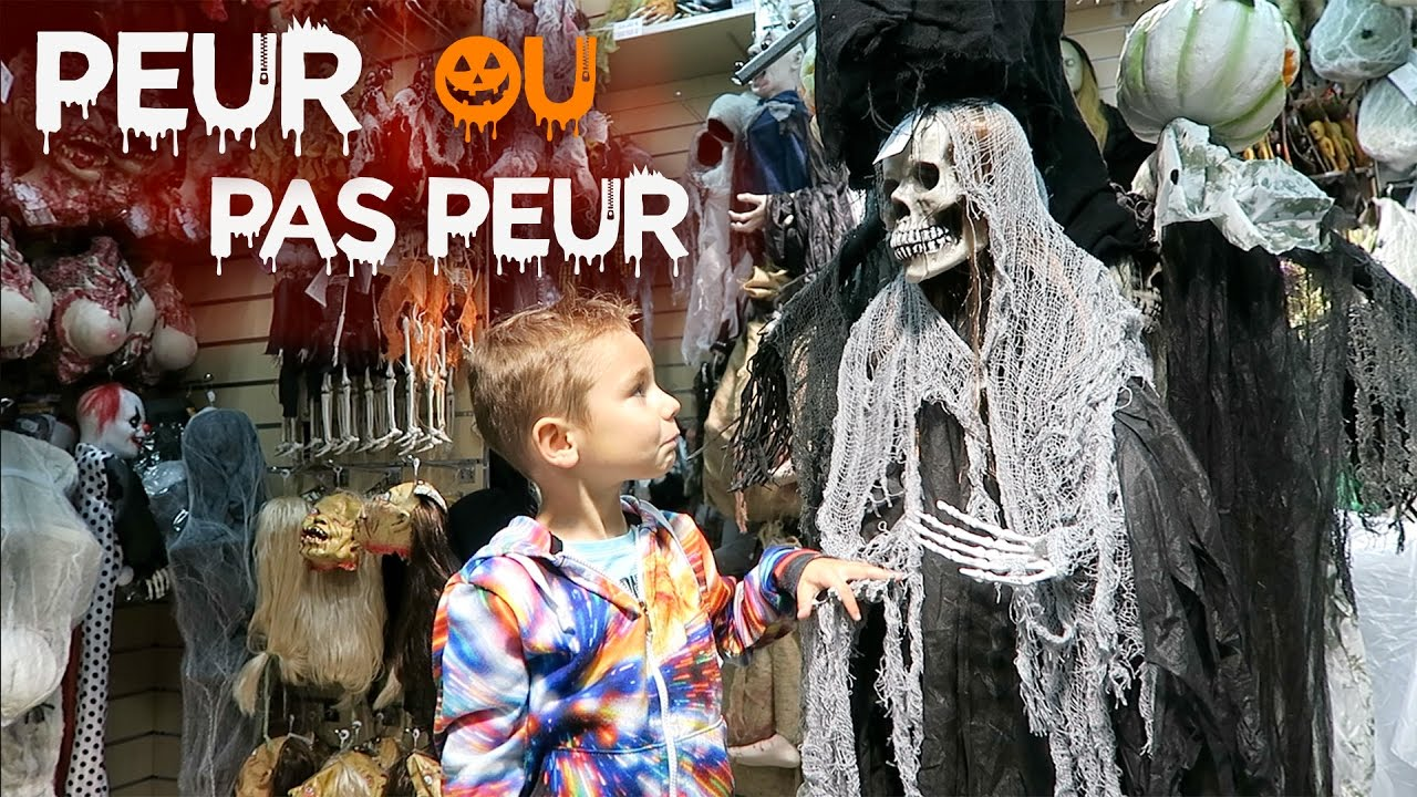vlog peur ou pas peur halloween youtube. Black Bedroom Furniture Sets. Home Design Ideas