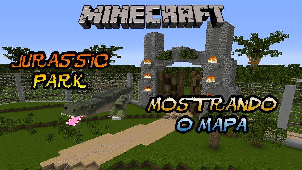 Images of Jeromeasf Minecraft Jurassic Park Ep 7 - #rock-cafe