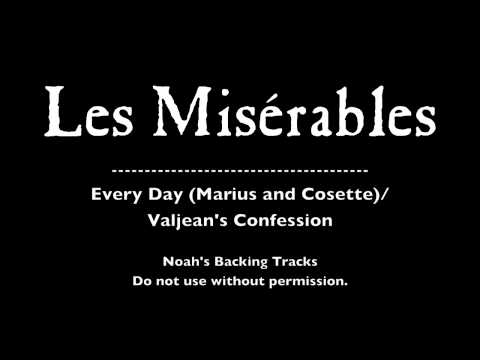 39. Every Day/Valjean's Confession - Les Misérables Backing Tracks (Karaoke/Instrumentals)