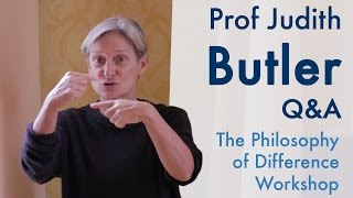 On critiques of liberal autonomy and the sovereign individual | Prof Judith Butler (2015)