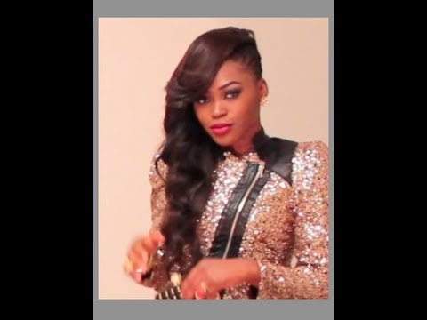 side cornrow with weave hairstyle youtube